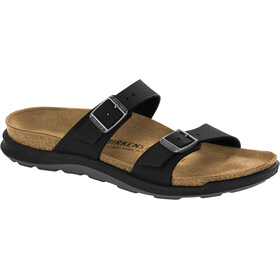 Birkenstock Sierra Sandals Birko-Flor Nubuk Narrow Women, black